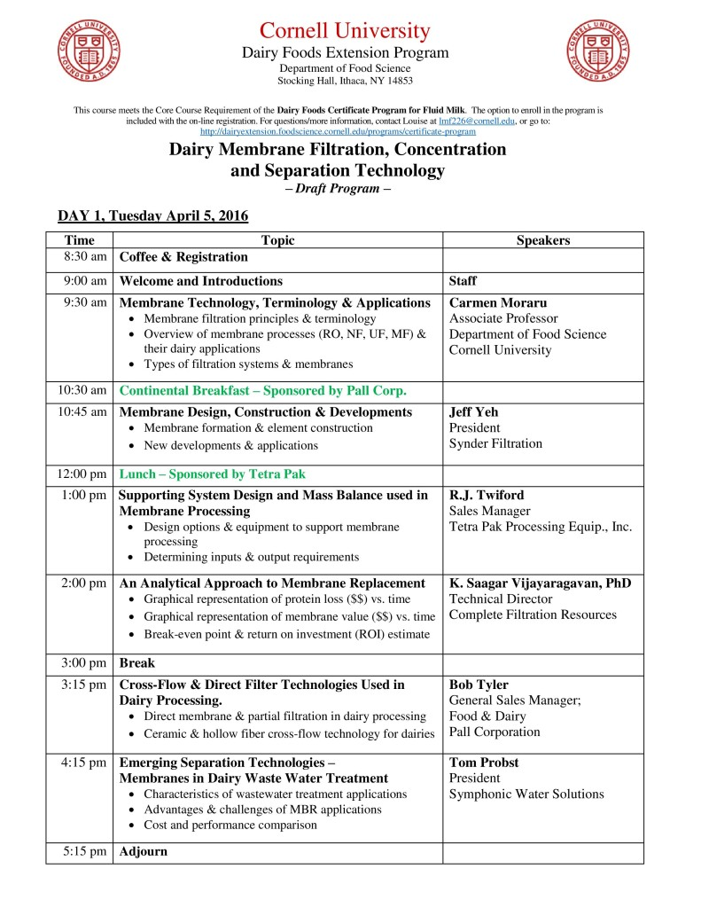 Membrane Filtration, Concentration, and Separation Technology Workshop Agenda-page-002